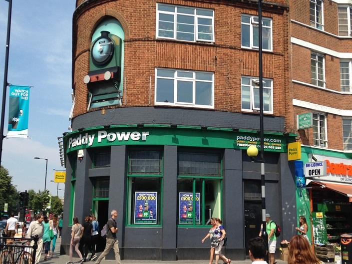 Former Railway Tavern, now Paddy Power